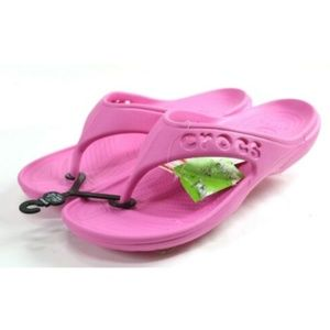 Crocs NWT Men's Flip-Flop Sandals Size 13 Pink